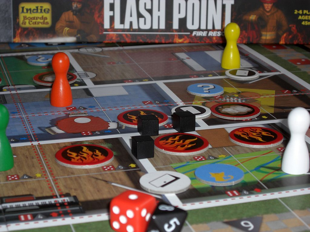 Spielsituation Flash Point - Fire Rescue