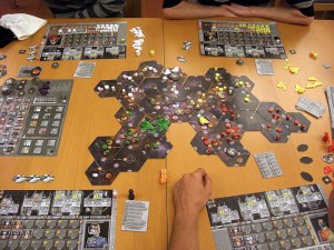 Spielsituation Eclipse