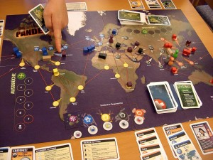 Spielsituation Pandemie