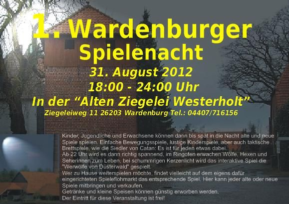 Wardenburger Spielenacht 2012