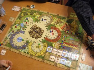 Spielsituation Tzolk´in