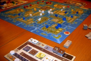Spielsituation Amerigo